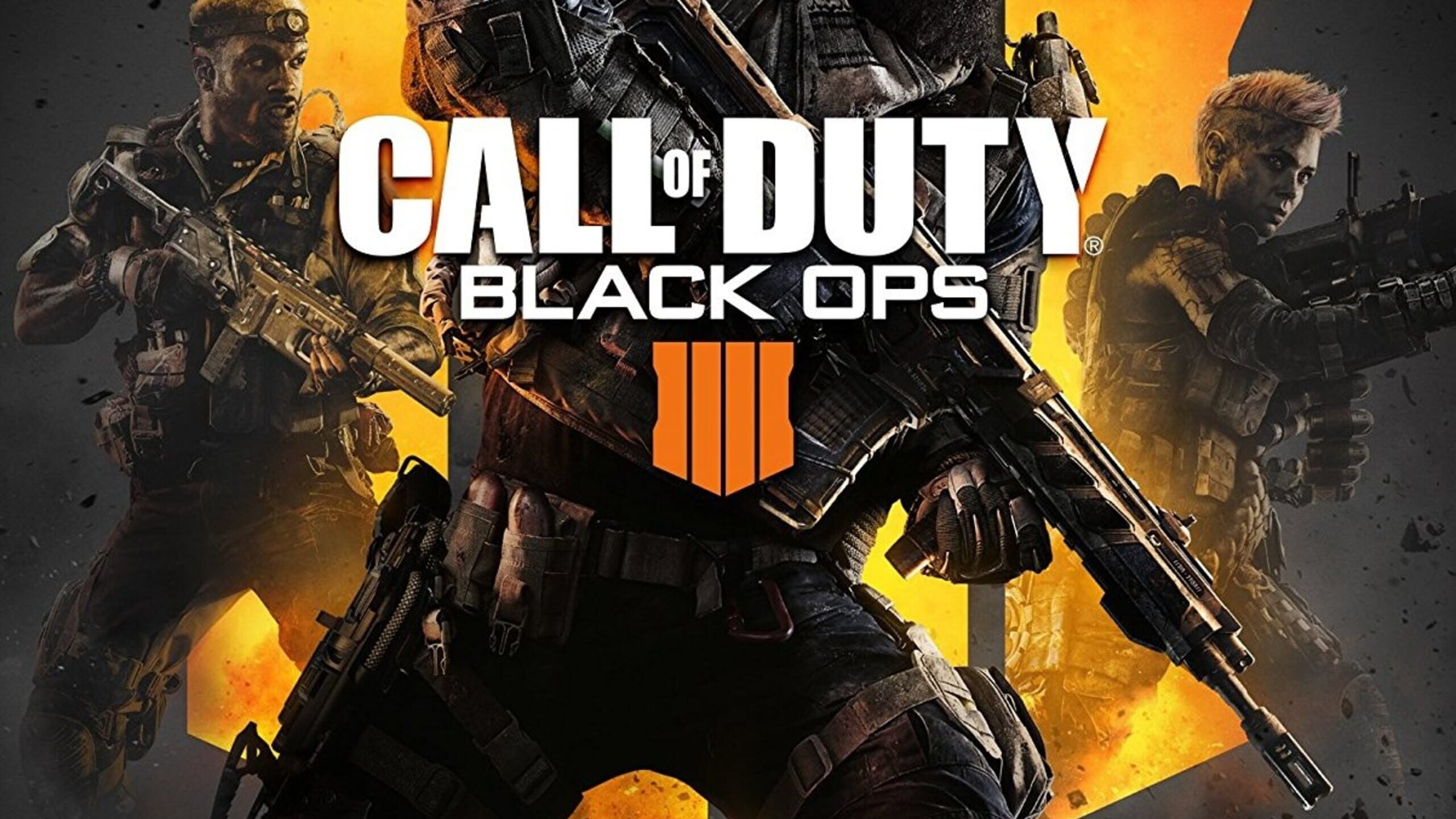 game cover art for Call of Duty: Black Ops 4