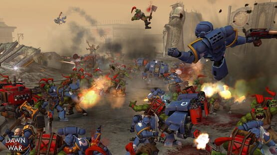 Képernyőkép erről: Warhammer 40,000: Dawn of War - Game of the Year Edition
