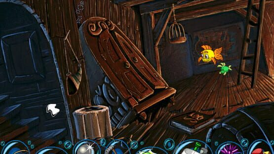 Képernyőkép erről: Freddi Fish and The Case of the Missing Kelp Seeds