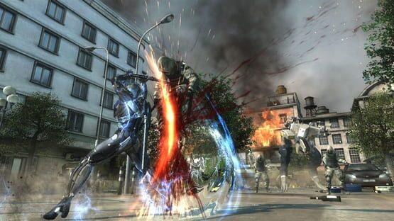 Metal Gear Rising: Revengeance Screenshot 2