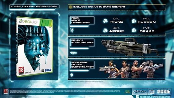 Aliens: Colonial Marines - Collectors Edition