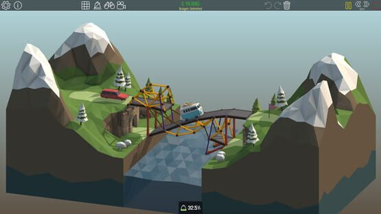 Poly Bridge Screenshot 1