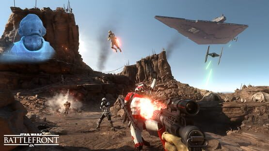 Star Wars Battlefront Screenshot 1