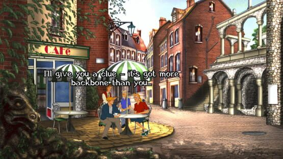 Képernyőkép erről: Broken Sword II: The Smoking Mirror