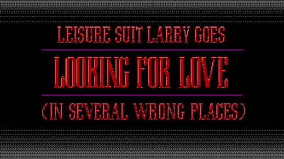 Képernyőkép erről: Leisure Suit Larry Goes Looking for Love (in Several Wrong Places)