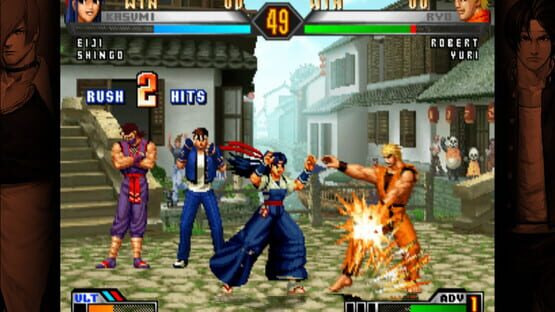 Képernyőkép erről: The King of Fighters '98 Ultimate Match Final Edition