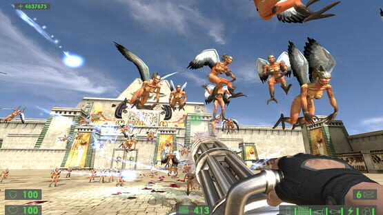 Képernyőkép erről: Serious Sam HD: The First Encounter