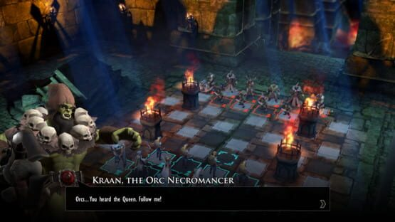 Képernyőkép erről: Chessaria: The Tactical Adventure