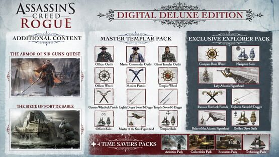 Képernyőkép erről: Assassin's Creed: Rogue - Digital Deluxe Edition
