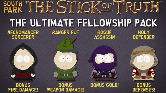 Képernyőkép erről: South Park: The Stick of Truth - Ultimate Fellowship Pack
