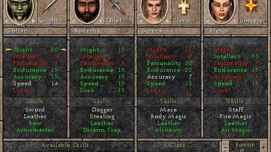 Képernyőkép erről: Might and Magic VII: For Blood and Honor
