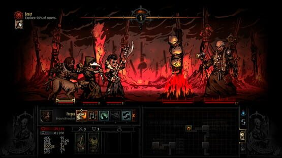 Képernyőkép erről: Darkest Dungeon: The Crimson Court