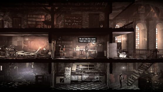 Képernyőkép erről: This War of Mine: - Stories: The Last Broadcast