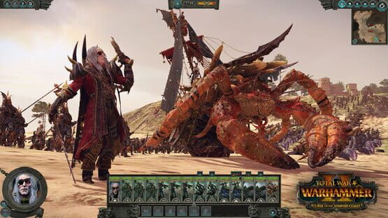 Képernyőkép erről: Total War: Warhammer II - Curse of the Vampire Coast