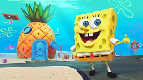 Képernyőkép erről: SpongeBob SquarePants: Battle for Bikini Bottom - Rehydrated