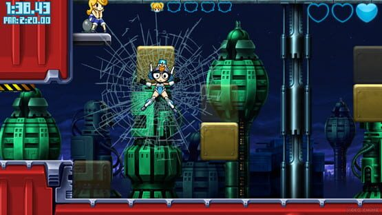 Képernyőkép erről: Mighty Switch Force! Collection
