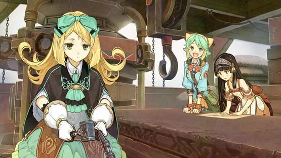 Képernyőkép erről: Atelier Shallie: Alchemists of the Dusk Sea DX