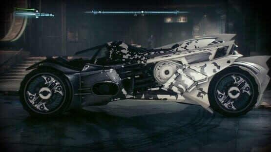 Képernyőkép erről: Batman: Arkham Knight - Rocksteady Themed Batmobile Skin