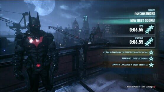 Képernyőkép erről: Batman: Arkham Knight - Crime Fighter Challenge Pack 5