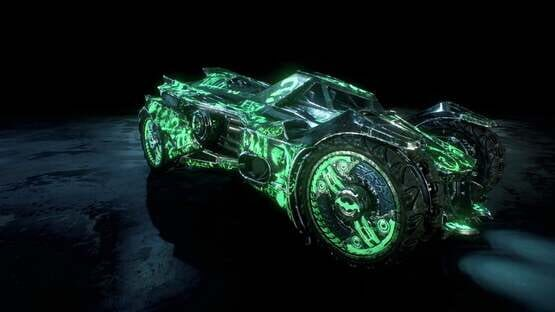 Képernyőkép erről: Batman: Arkham Knight - Riddler Themed Batmobile Skin