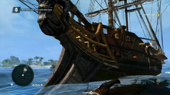 Képernyőkép erről: Assassin's Creed IV: Black Flag - Kraken Ship Pack
