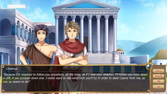 Képernyőkép erről: Casina: A Visual Novel set in Ancient Greece