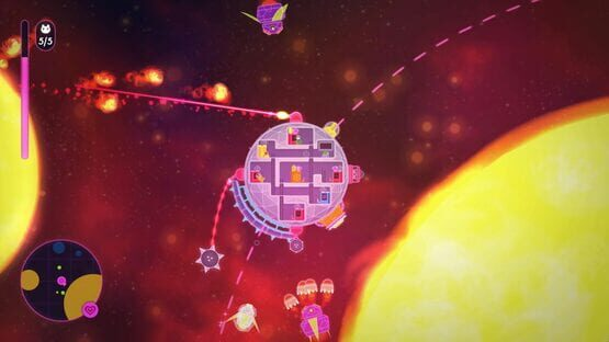Lovers in a Dangerous Spacetime Screenshot 3