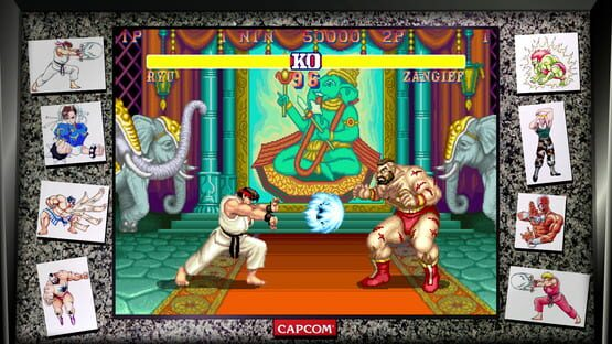 Képernyőkép erről: Street Fighter 30th Anniversary Collection