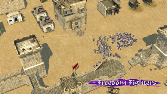Képernyőkép erről: Stronghold Crusader II: Freedom Fighters mini-campaign