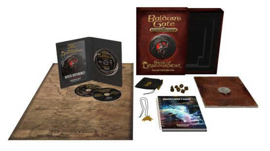 Képernyőkép erről: Baldur's Gate: Siege of Dragonspear - Collector's Edition