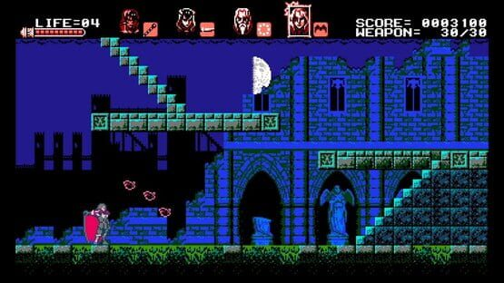 Képernyőkép erről: Bloodstained: Curse of the Moon